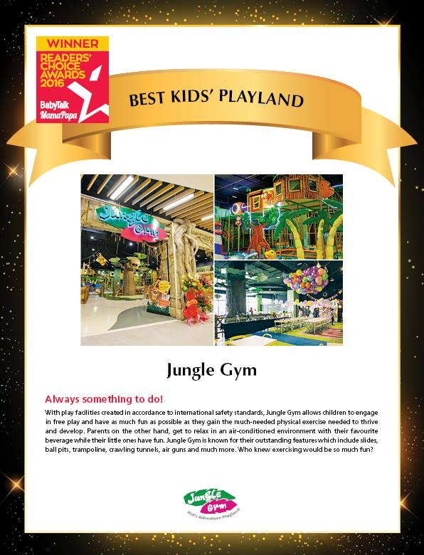 Best Kids' Playland: Jungle Gym