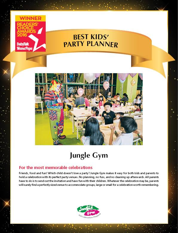 Best Kids' Party Planner : Jungle Gym