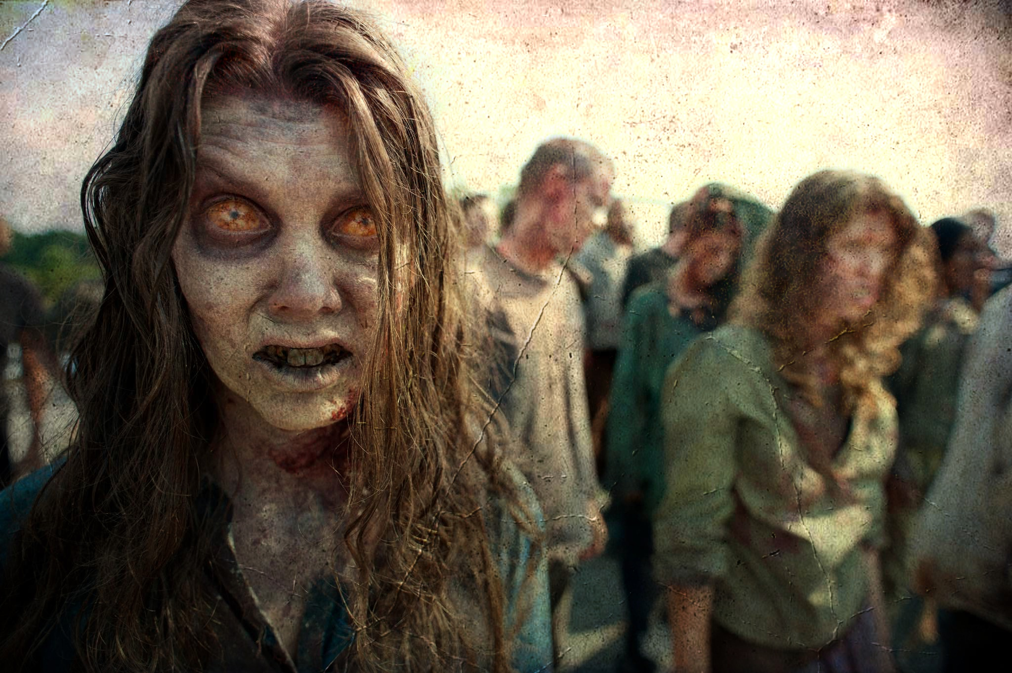 Zombies, like the ones in AMC's THE WALKING DEAD, are more popular than ever.